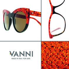 #VANNI Tangram - exclusive acetate. www.vanniocchiali.com #VANNIeyewear #madeinitalyforsure
