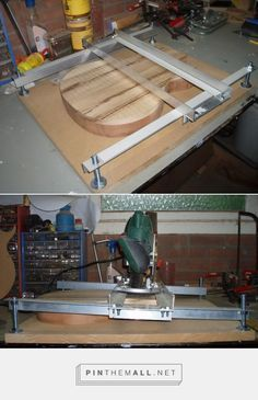 Router Planing Jig - Tools and Shop Tutorials & Reference - ProjectGuitar.com - created via https://pinthemall.net #woodworkdecor