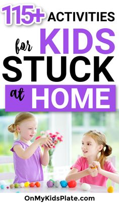 These easy activities for kids are perfect for when you're stuck at home. Find crafts, games, online resources, baking recipes and tons of ideas that kids love. Activities For 6 Year Olds, Kids Activities At Home, Games To Play With Kids, Learning Activities, Kids Fun, Family Fun Night, Kids House, Grandchildren, Grandkids