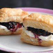 Blackberry Puffs, Recipe from Cooking.com
