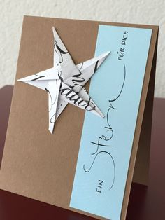 Schön Schrift Karten Schön Schrift Karten The post Schön Schrift Karten appeared first on Basteln ideen. Christmas Origami, Diy Christmas Cards, Handmade Christmas, Xmas Crafts, Diy And Crafts, Paper Crafts, Useful Origami, Diy Origami, Karten Diy