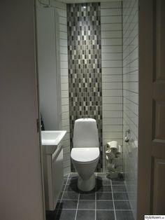 liten toalett efter renovering