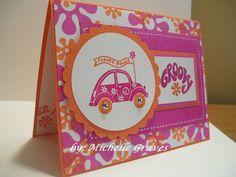 SC273 Groovy Birthday Card