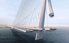Zaha Hadid Architects win Danjiang Bridge competition in Taiwa...