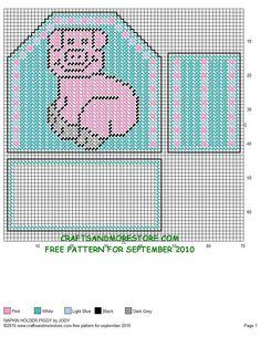 Napkin Holder Piggy 1/2