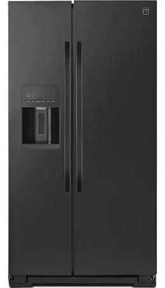 51139 26 cu. ft. Side-by-Side Refrigerator - Black