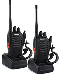 Retevis H-777 Walkie Talkie UHF 400-470MHz 3W 16CH Single Band With Earpiece High Illumination Flashlight Portable 2 Way Radio (1 Pair). For product info go to:  https://all4hiking.com/products/retevis-h-777-walkie-talkie-uhf-400-470mhz-3w-16ch-single-band-with-earpiece-high-illumination-flashlight-portable-2-way-radio-1-pair/