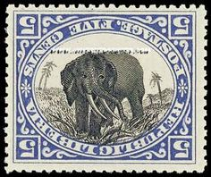Elephant stamps--ODD--image is upside down to printing