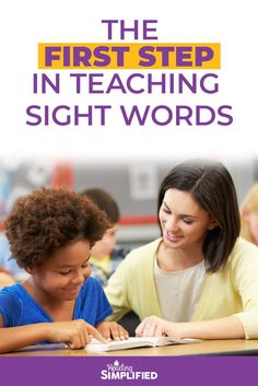 The step in teaching sight words - Reading Simplified Help Teaching, Teaching Strategies, Teaching Reading, Teaching Sight Words, Sight Word Activities, Reading Fluency, Reading Intervention, Learning Games For Kids, Student Learning