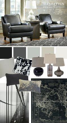 Laylanne Accent Chairs - Manhattan Design District - Ashley Furniture