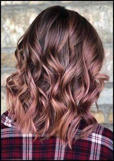 29 Trendy Rose Brown Haarfarbe Ideen für 2018 | Haarfarbe ... | , #brown #haarfarbe #ideen #trendy #ombrebrownhair