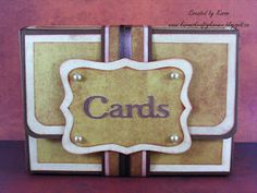 The Bugbytes: A Gift Box for cards.