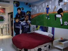 Boy Room Idea: boys soccer room ideas