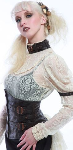 Lip-Service-Step-in-Time-Ivory-Lace-Steampunk-Victorian-Anime-Cosplay-Blouse-Top