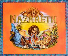 Great Vinyl on http://www.vinylrecords.ch this is album cover photo of NAZARETH - Rampant