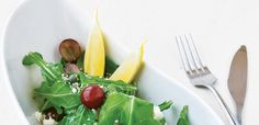 Rocket Greens, Grapes, Goat Cheese and Hemp Hearts Recipe, alive.com