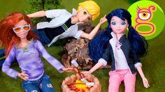 Marinette y Adrien van de Camping - Aventuras de Ladybug - Juguetes de P...