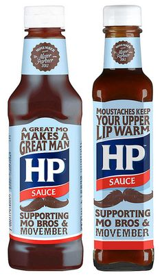 HP Sauce has teamed up with Movember for the second year running.