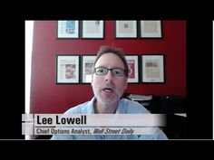 """In this week's """"Saturday Spotlight,"""" Lee Lowell shows you how to generate income with options trading. Spotlight, Mindfulness, Youtube, Consciousness, Youtubers, Youtube Movies"""