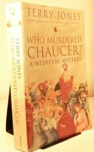 APRIL 17 2012 Terry Jones Who Murdered Chaucer? A Medieval Mystery. A speculative investigation into the death of Chaucer, of which nothing is known. Terry Jones' locates the poet in the oppresive regime of Henry IV, which overtook the liberalism of Richard II's reign and where Chaucer's writings are held against him. On this day in 1387 Chaucer is said to have begun his pilgrimage to Canterbury and, ten years to the day in 1397, first told the Canterbury Tales at the court of Richard II…