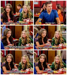 "#GirlMeetsWorld 2x03 ""Girl Meets the Secret of Life"" - Riley, Maya and Lucas"