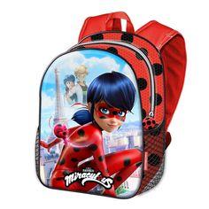 Amazon.com: LADYBUG BACKPACK 40CM. SCHOOL BAG. MIRACULOUS LADYBUG BAG: Toys & Games