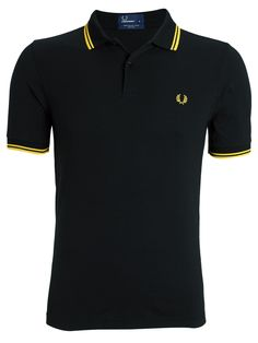 Buy Fred Perry Twin Tipped Regular Fit Polo Shirt, Navy from our Men's Polo Shirts & Rugby Shirts range at John Lewis & Partners. Slim Fit Polo Shirts, Polo T Shirts, Fred Perry Polo Shirts, Polo Outfit, Pique Shirt, Tennis Fashion, Mod Fashion, Twin Tips, Camisa Polo