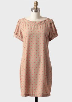 Lovely Morning Polka Dot Shift Dress at #Ruche @shopruche