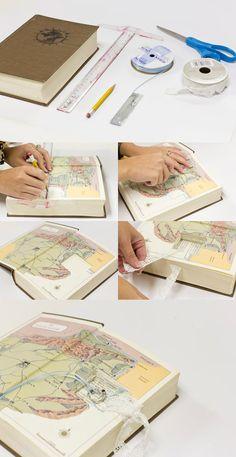 DIY: Ring Bearer Pillow Book via Weddings Illustrated