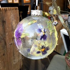 Holiday ornaments!