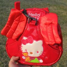 Hello Kitty  Angel wings baby Walking Wings Anti lost Toddler Reins Backpack baby safety harnesses backpack 5pcs/lot-in Harnesses & Leashes ...