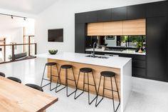 The Secret to Custom Kitchen Rennovation Done in Melbourne - fiihaamay Morden Kitchen Design, Kitchen Room Design, Contemporary Kitchen Design, Interior Design Kitchen, Kitchen Designs, Vintage Kitchen Decor, Home Decor Kitchen, Home Kitchens, Kitchen Ideas