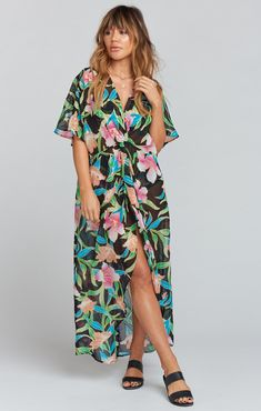 Get Twisted Maxi Dress ~ Royal Hawaiian | Show Me Your Mumu
