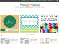 Plates and Napkins