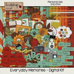 Everyday Memories  Digital Kit