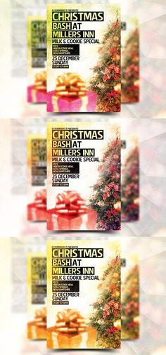 Christmas Bash - Flyer Template. Flyer Templates. $5.00