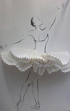 best ideas for dancing girl illustration ballet Art Ballet, Ballet Dance, Ballet Style, Ballet Crafts, Paper Art, Paper Crafts, Art Et Illustration, Ballerina Illustration, Fashion Design Drawings