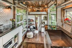 Kitchen 1 - Alpha by New Frontier Tiny Homes