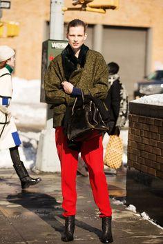 via @Refinery29: Fashion Week Street Style- NYFW Outfits