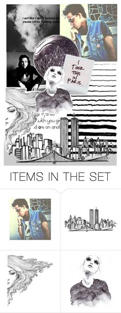 """""""Blackbear - Fav Rapper"""" by beck-bows-and-ribbons ❤ liked on Polyvore featuring art"""