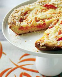 Grandma Zerr's Apricot Kuchen Recipe. Kuchen is a traditional German fruit- or cheese-filled yeast cake that's common in North Dakota and served at any time of day.