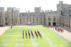 The Queen dances at low-key Trooping the Colour - video, best pictures - Photo 8 Huw Edwards, Queen's Official Birthday, Bbc Presenters, Windsor Castle, Prince Philip, Duke And Duchess, Low Key, Troops, Picture Photo