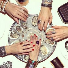 Fashion meets food on Instagram. See the chicest foodie accounts here.