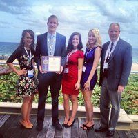 The Ithaca College chapter of the Society of Professional Journalists (SPJ) received the National Outstanding Campus Chapter Award for 2011-2012 at the Excellence in Journalism 2012 conference in Fort Lauderdale, Fla. #journalism #ithaca