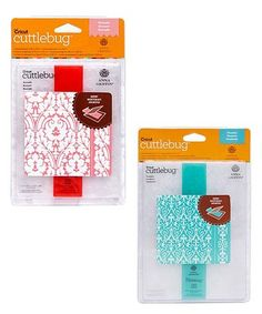 Love this Cuttlebug Embossing Folder Set on #zulily! #zulilyfinds
