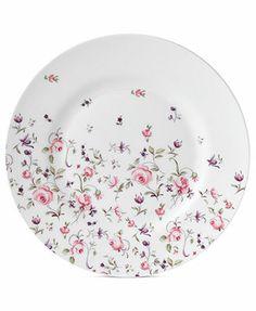 Royal Albert Rose Confetti Salad Plate