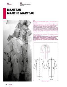 Manteau manche marteau - DP Studio