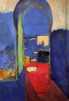 Henri Matisse - entrance to the kasbah