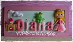 Um quadro para a Diana, que é uma princesa!