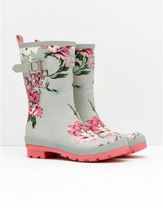 MOLLYWELLY Mid-Height Printed Welly